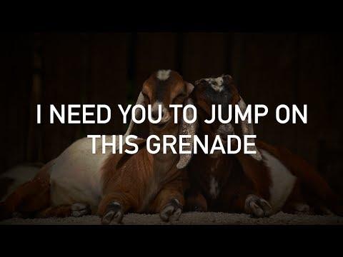 GOAT, Jack & Conor Maynard - Grenade (with lyrics)