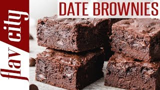 Chocolate Date Brownies - Gluten Free And Dairy Free
