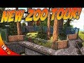 NEW ZOO TOUR! TONS OF NEW ECLOSURES! Ark Survival Evolved Mutation Zoo