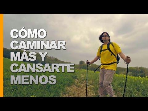 CÓMO CAMINAR MÁS Y CANSARTE MENOS - TREKKING CON BASTONES