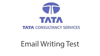 Email Writing Test for TCS - WiiDo Computer Services