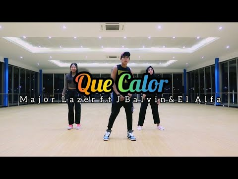 Major Lazer - Que Calor (feat. J Balvin & El Alfa) ZUMBA | FITNESS | At Gobal Sport Balikpapan