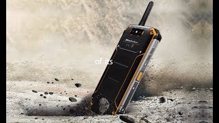 Blackview BV9500 Pro Crowdfunding, LAN Intercom IP68 rugged smartphone with 12V/2A wireless charging