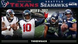 Hopkins & Watson Put the Legion of Boom on Notice! (Texans vs. Seahawks 2017, Week 8)