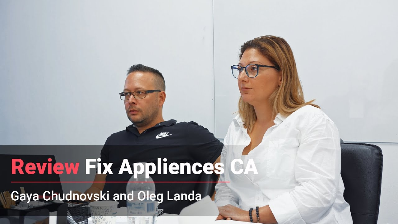 Видеоотзыв: fixappliances.ca — Oleg Chudnovski
