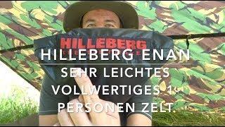 """""""Enan"""" von Hilleberg. Das leichte 1-Nasen-Zelt für Anspruchsvolle."""