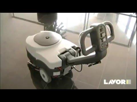 Lavor Scl Quick 36 B Akülü Yer Temizleme Makinası