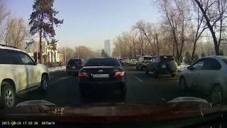 Алматы. Пробки нашего города. Проспект аль- Фараби. Утро