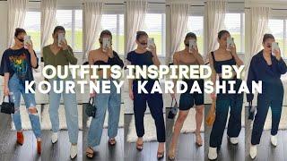 KOURTNEY KARDASHIAN INSPIRED OUTFITS - PETITE CELEBRITY STYLE INSPO