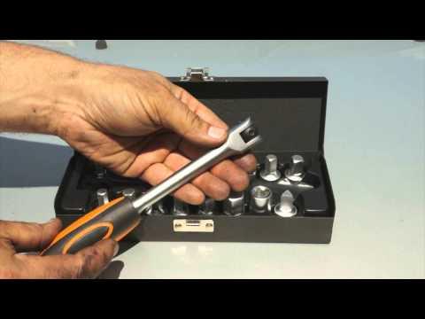 Lincos® DK-382018 Set di chiavi per il drenaggio dell' olio