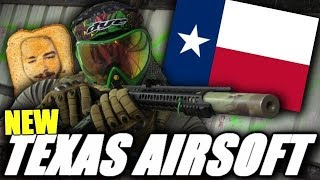 """Zoomz Airsoft! - Another NEW Texas Airsoft Field 