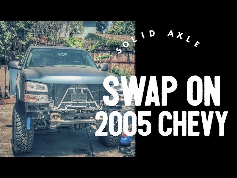 Merricks Garage - Solid Axle Swap On A Chevy 1500