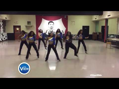 Ladies of R.A.G.E. At Fisk University Rock The #ViewSlide | The View