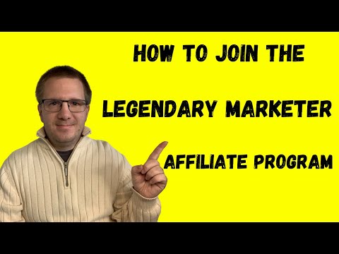 How To Join The Legendary Marketer Affiliate Program