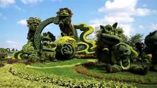 Living Sculpture At Mosaiculture Gatineau 2018