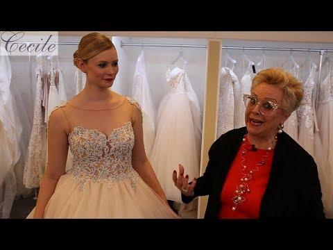 Top-Trend Glitzertüll für Brautkleider