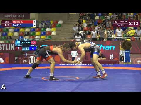 Χάλκινος ο Πιλίδης στο ευρωπαϊκό πρωτάθλημα πάλης στην Κωνσταντινούπολη (βίντεο)