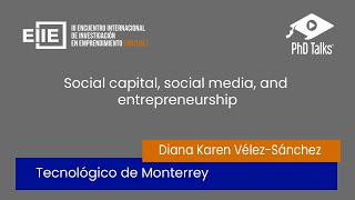 Social capital, social media, and entrepreneurship