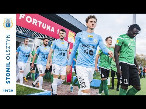 Skrót meczu Stomil Olsztyn - GKS Bełchatów 0:1