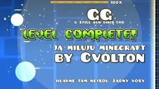 Ja Miluju Minecraft by Cvolton (ME) 【GEOMETRY DASH】