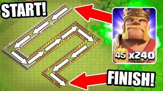 THE BARBARIAN TRAIN vs CERTAIN DEATH!! - Clash Of Clans - EPIC MASS TROOP CHALLENGE!! - dooclip.me