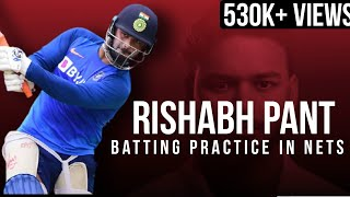 Rishab Pant | Batting Practice in Nets |