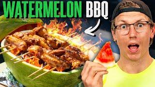 Super Easy Watermelon BBQ Hack