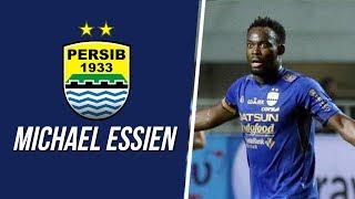 Sambil Tersenyum, Ini Momen Terakhir Michael Essien saat Masih Memakai Jersey Persib Bandung