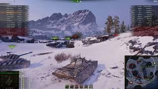 Т-54 облегчённый, Заполярье, Стандартный бой