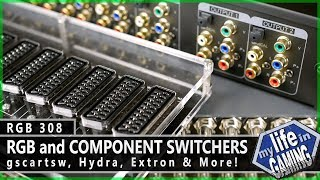 RGB308 :: RGB and Component Switchers: gscartsw, Hydra, Extron, and more