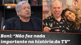 """Saiba como foi o """"parabéns"""" de Boni, da Globo, a Silvio Santos"""