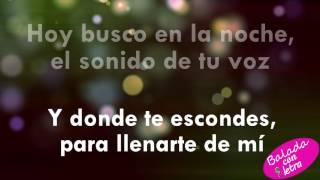 Hoy tengo ganas de ti - Alejandro Fernandez Christina Aguilera+letra