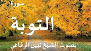 سورة التوبة بصوت الشيخ نبيل الرفاعي