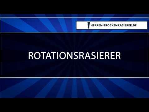 ▶ Rotationsrasierer - Was kann der [HQ]