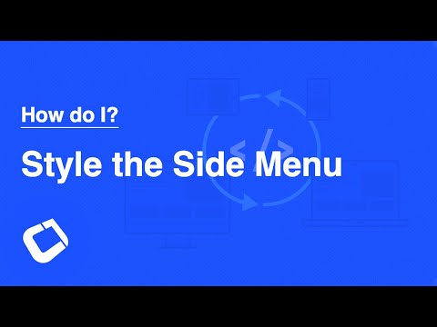 Create a Gorgeous Sidemenu