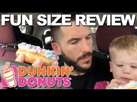 Fun Size Review: Dunkin Donuts' Comet Candy Donut