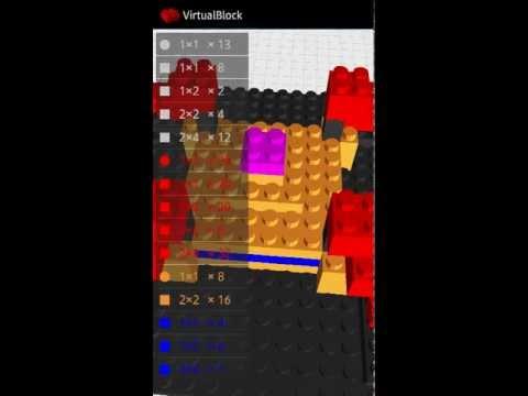 Video of VirtualBlock - Block Builder