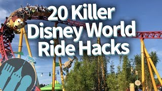 Top 20 Disney World Ride Hacks!