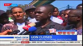 UoN student leaders react angrily to the institution closure