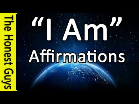 'I AM' AFFIRMATIONS (With Subtle Music) 432Hz (VERY POWERFUL!) Daily Affirmations