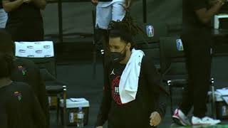 J. Cole Introduced at the 2021 Basketball Africa League Inaugural Game