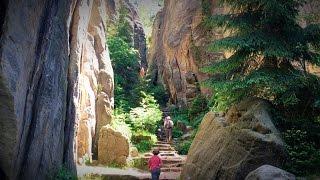 Bohemian Paradise - Prachovske Skaly - Czech Republic 4k Drone Prachov Rocks