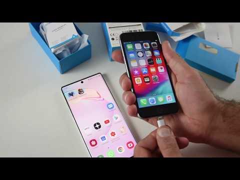 Заряжаем IPhone и Samsung Note 10 китайскими зарядками Anker / Арстайл /