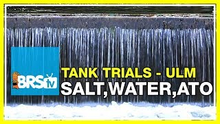 Choosing the correct salt, water and ATO for Ultra Low Maintenance | BRStv Tank Trials EP7