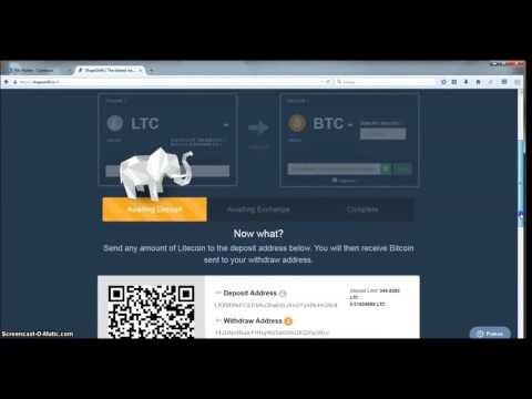 Bitcoin lošimo programa