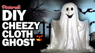 DIY Cheezy Cloth Ghost + ThreadBanger Box UnBoxing - MVCVP