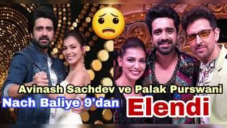 Avinash Sachdev Ve Palak Purswani Nach Baliye 9'dan Elendi.