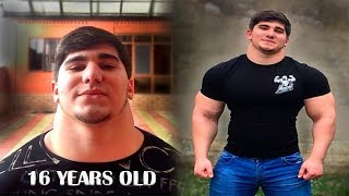 16 Years Old Monster NECK - Chechen Genetics   Workout Motivation 2018