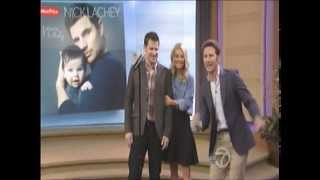 Nick chez on live! with Kelly & Michael 17/04/13