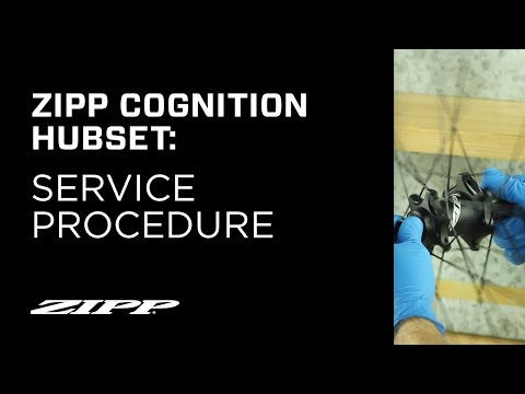 Zipp Cognition Hubset Service Procedure
